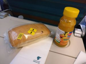 Oman Air Economy Class Airbus A330 Second Meal