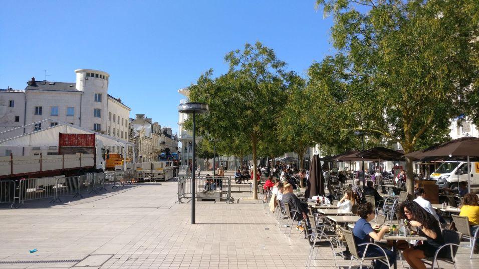 Place du Mairie Poitiers