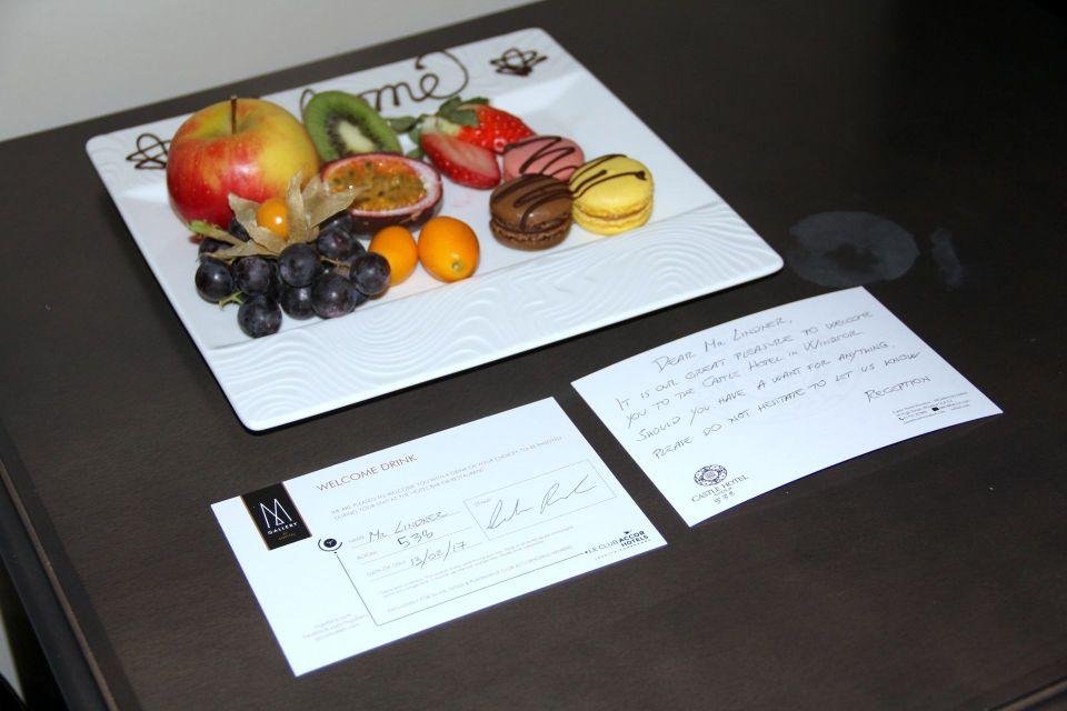 Castle Hotel Windsor Welcome Gift