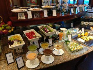 Hilton Hanoi Opera Lounge Breakfast