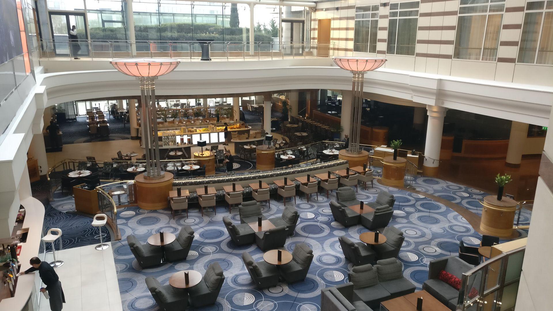 Hilton Paris CDG Atrium
