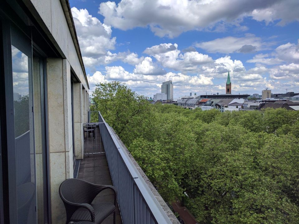 InterContinental Düsseldorf Executive Suite View