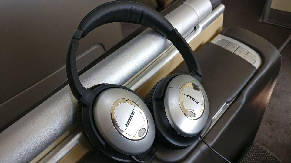 Lufthansa First Class Headphones