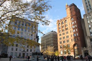 Place d'Armes Montreal