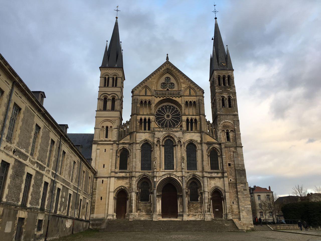 Reims Basilica Saint Remi