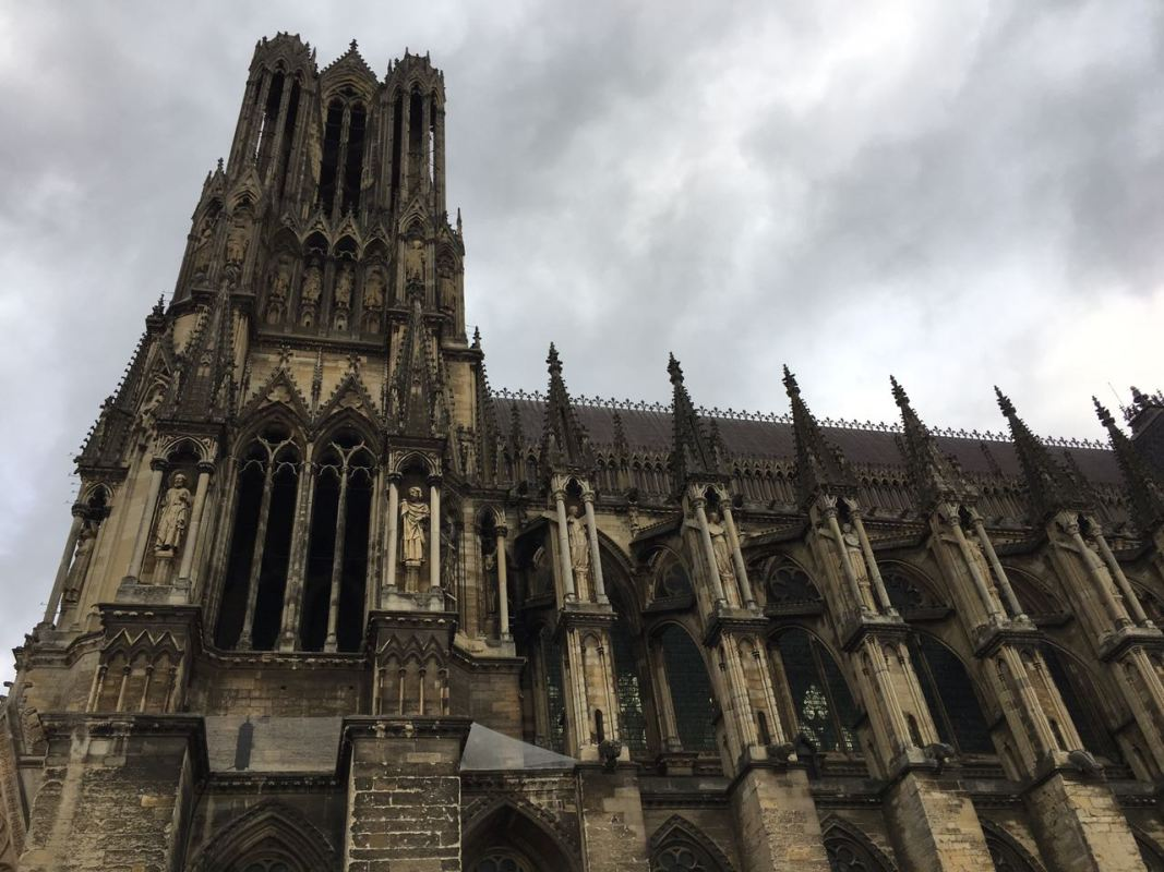 Reims Notre Dame Cathedral 2