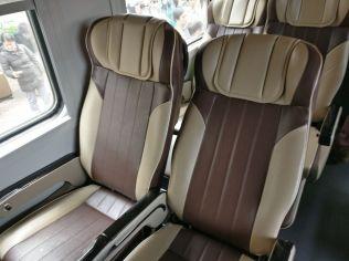 Train Vietnam Seating
