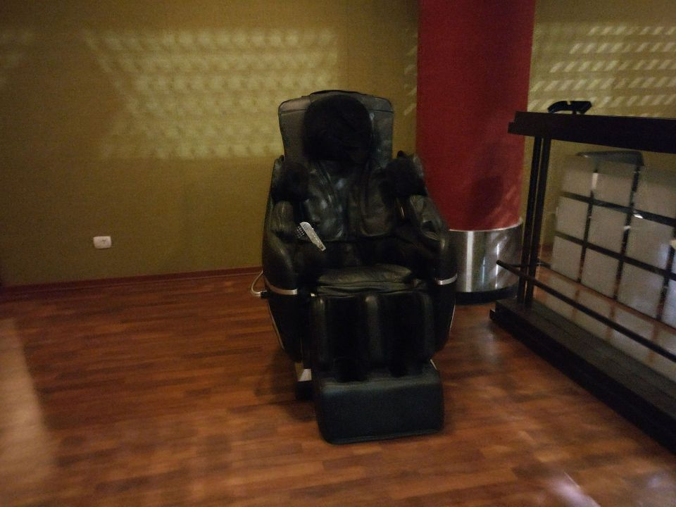 Ethiopian Airlines Cloud 9 Lounge Addis Ababa Massage Chair