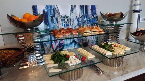 Hilton Bomonti Istanbul Executive Lounge Dinner
