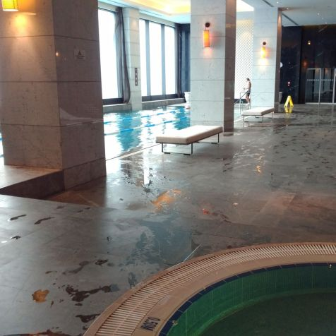 Hilton Bomonti Istanbul Indoor Pool