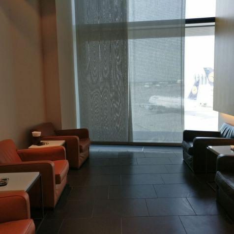 Lufthansa First Class Lounge Frankfurt A Smoking Lounge