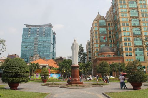Saigon Cathedral Square