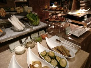 The Peninsula Manila Club Lounge Dinner
