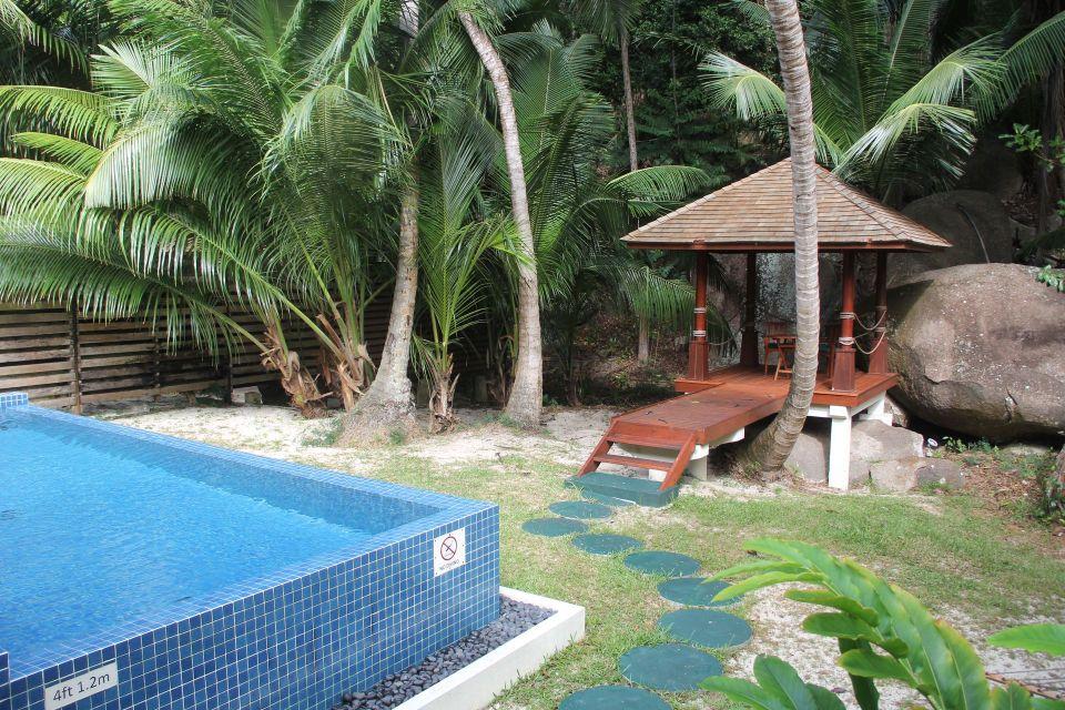 Hilton Seychelles Labriz Resort Deluxe Hillside Pool Villa Garden