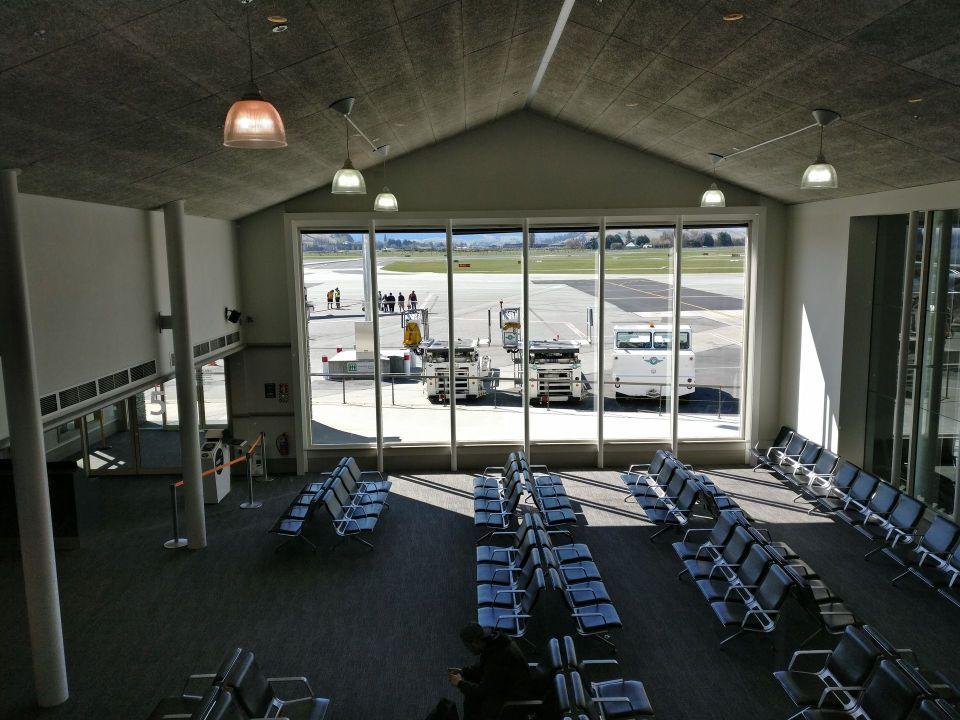 Air New Zealand Koru Lounge Queenstown View
