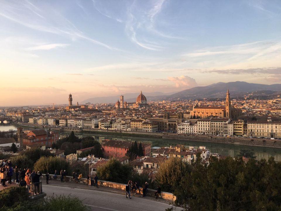 Florence View from Porta San Niccolò