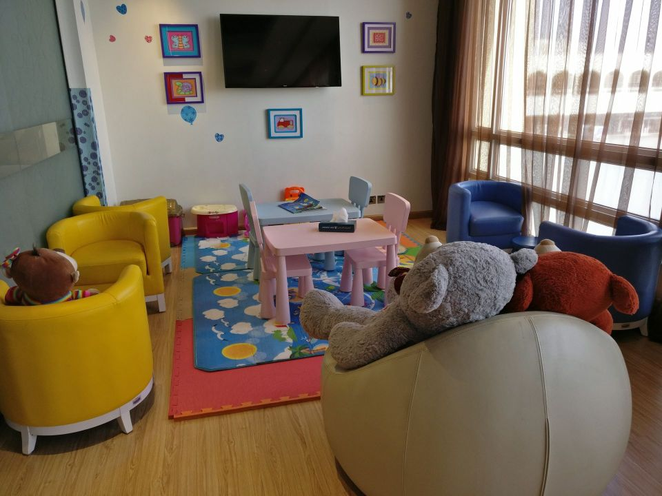 Oman Air Lounge Muscat Kids Area
