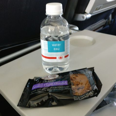 Air Canada Economy Class Boeing 777-300ER Snack