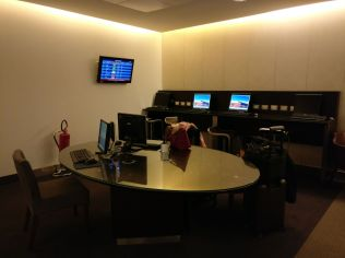 British Airways Lounge Milan Business Center