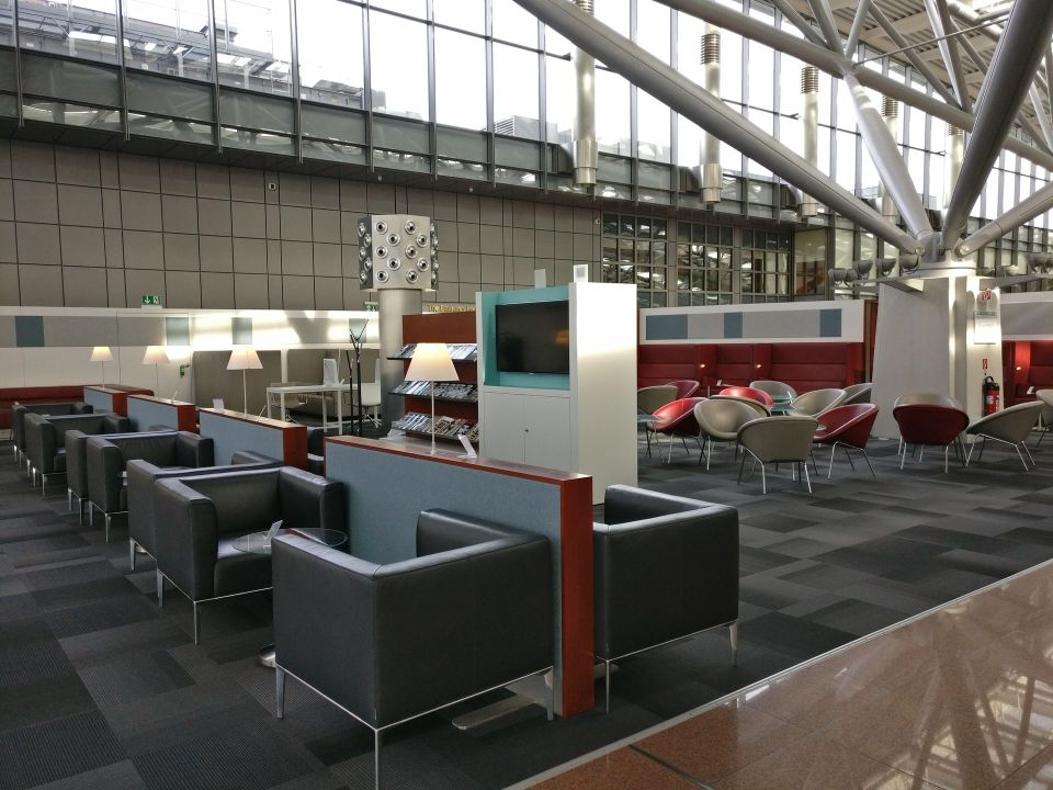 Hamburg Airport Lounge Seating