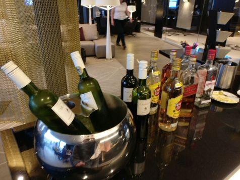Hilton Tallinn Park Executive Lounge Evening Spread