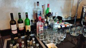 Conrad Istanbul Executive Lounge Evening Spread