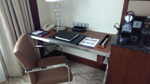 Conrad Istanbul Executive Room Bathroom
