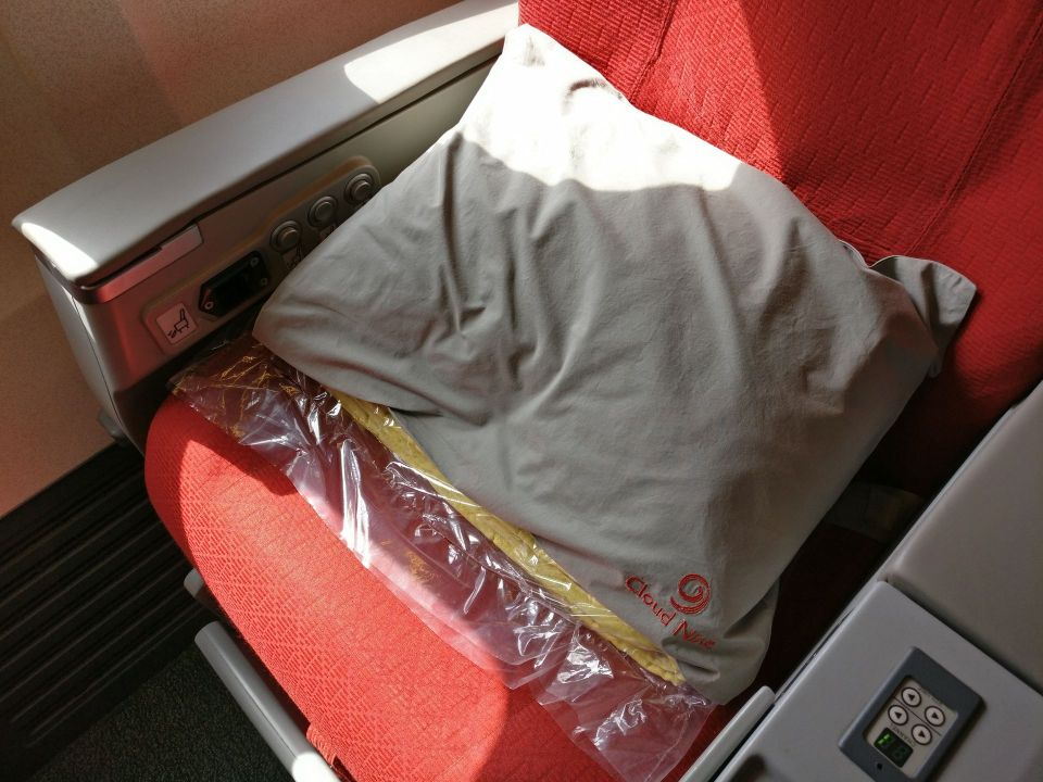 Ethiopian Airlines Business Class Boeing 737 Pillow