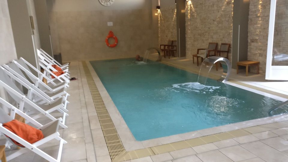Grand Hotel des Sablettes Plage Indoor Pool