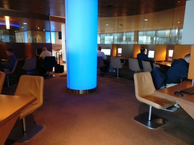 KLM Crown Lounge Amsterdam Non-Schengen Business Center