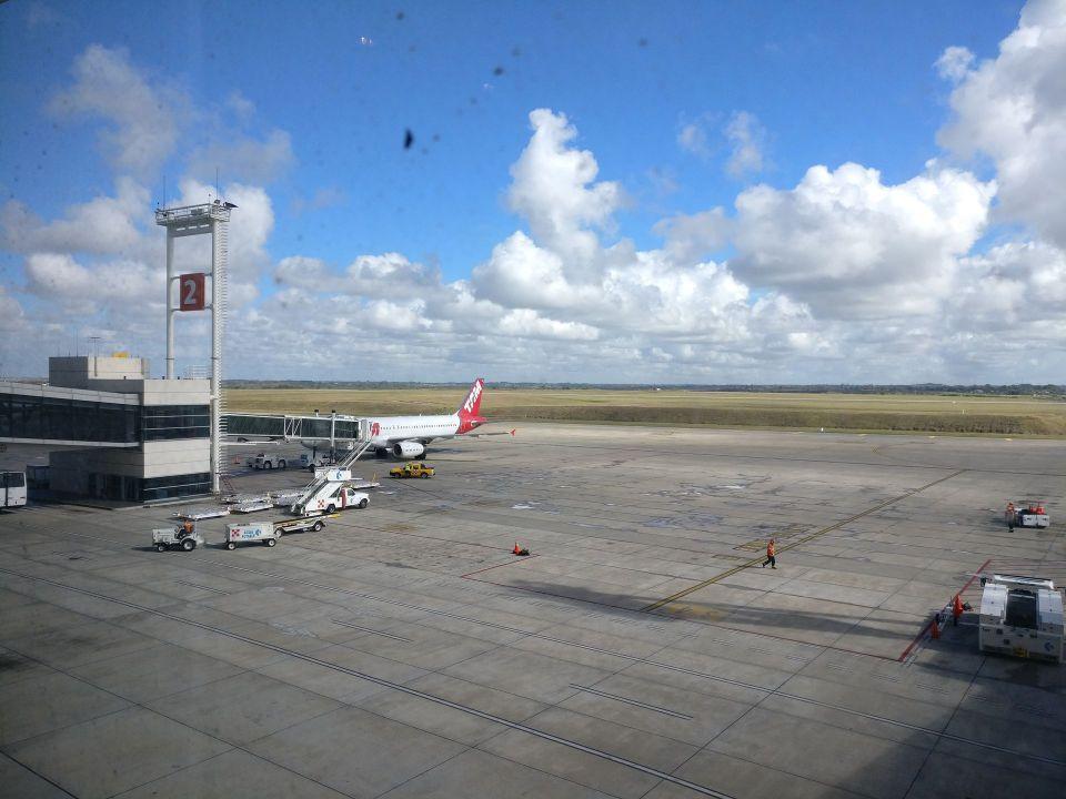 Montevideo Airport Tarmac