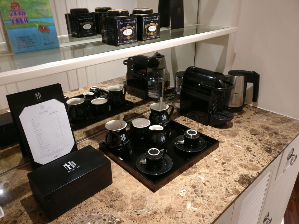 Sofitel Legend Metropole Grand Deluxe Room Nespresso