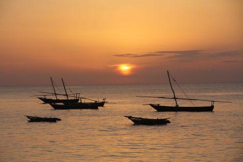 Zanzibar Nungwi Sunset