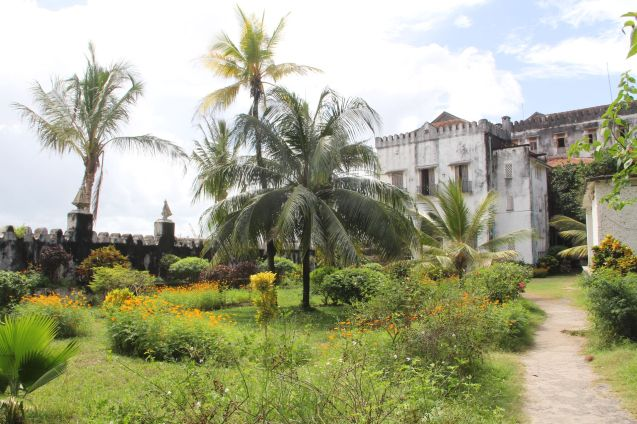 Zanzibar Stone Town Palace Gardens