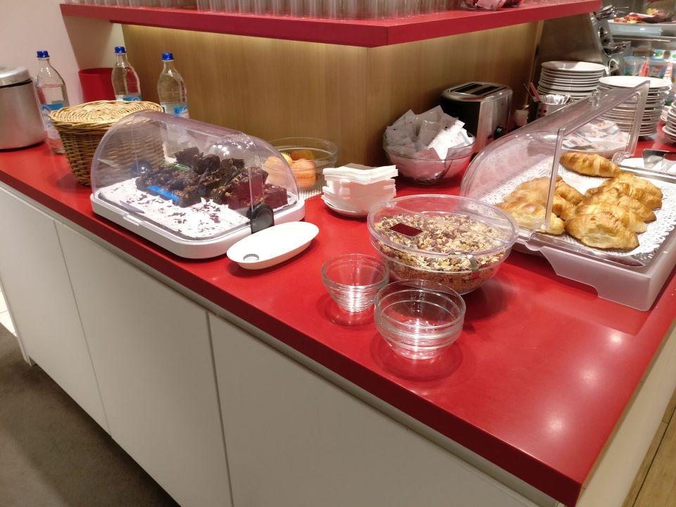 Air France Lounge Munich Buffet