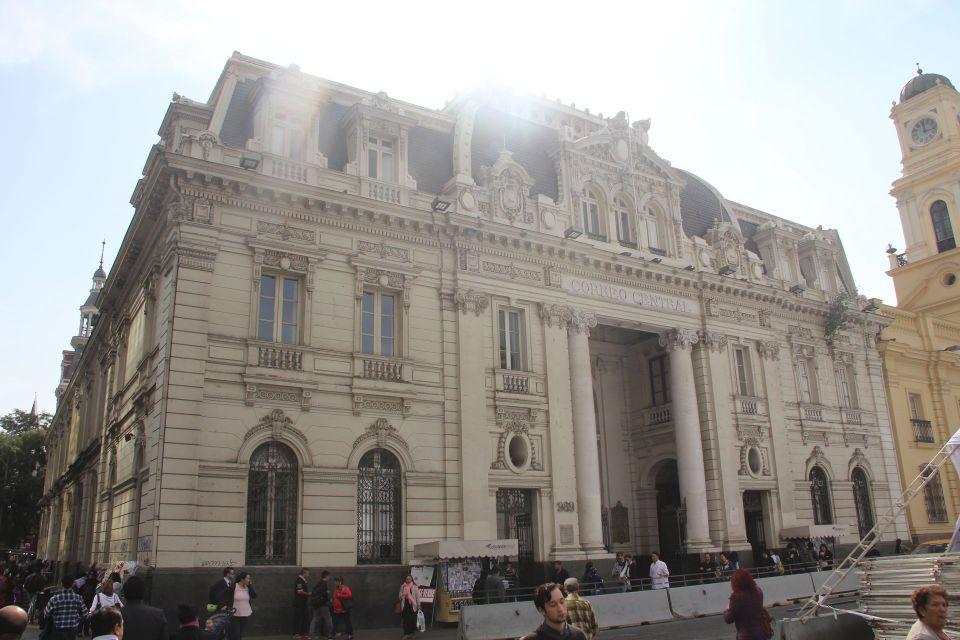 Central Post Office Building Santiago de Chile