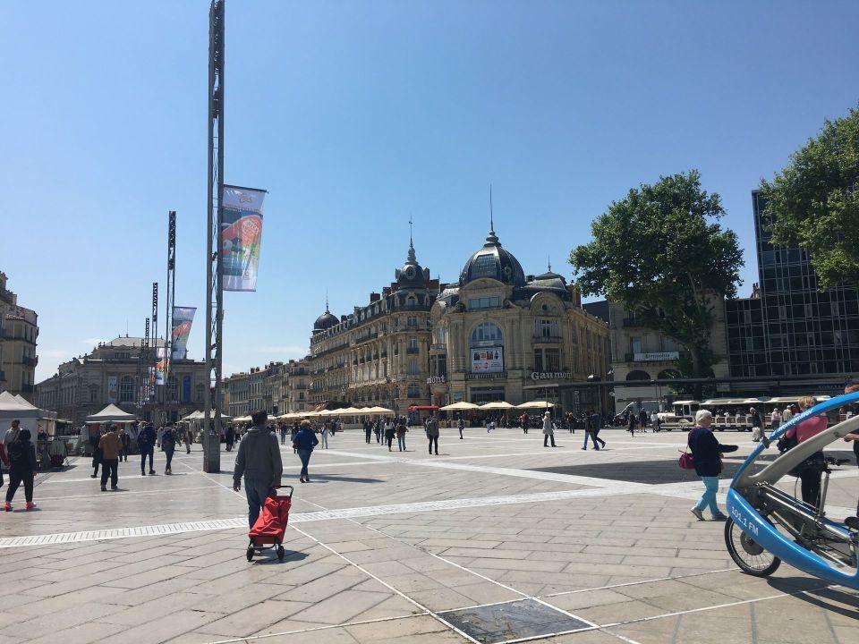Esplanade Charles-de-Gaulle Montpellier