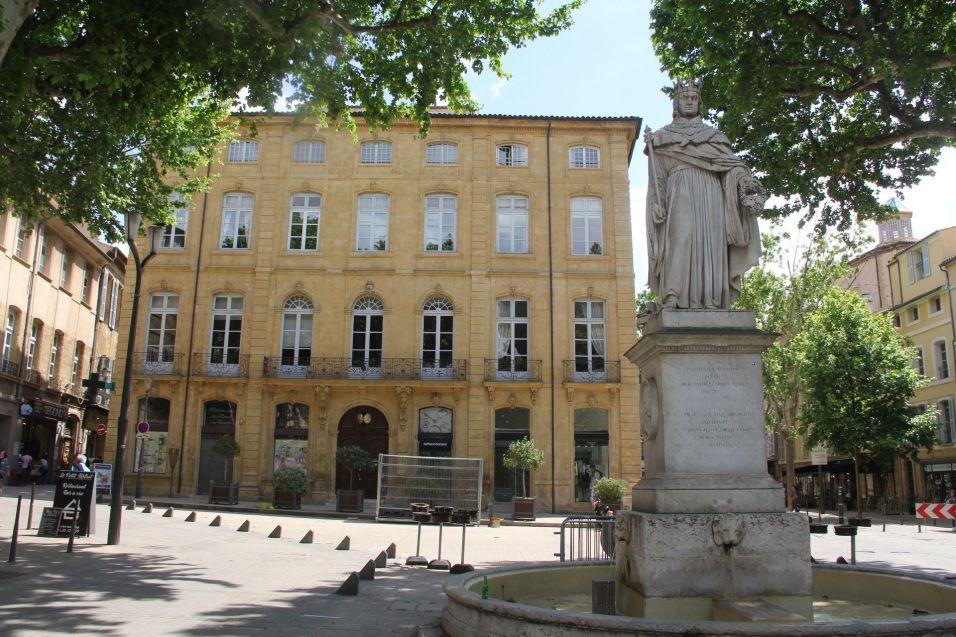 Fontaine Du Roi René Aix en Provence