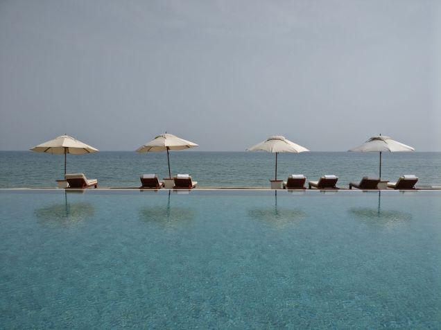 The Chedi Mucsat Chedi Pool