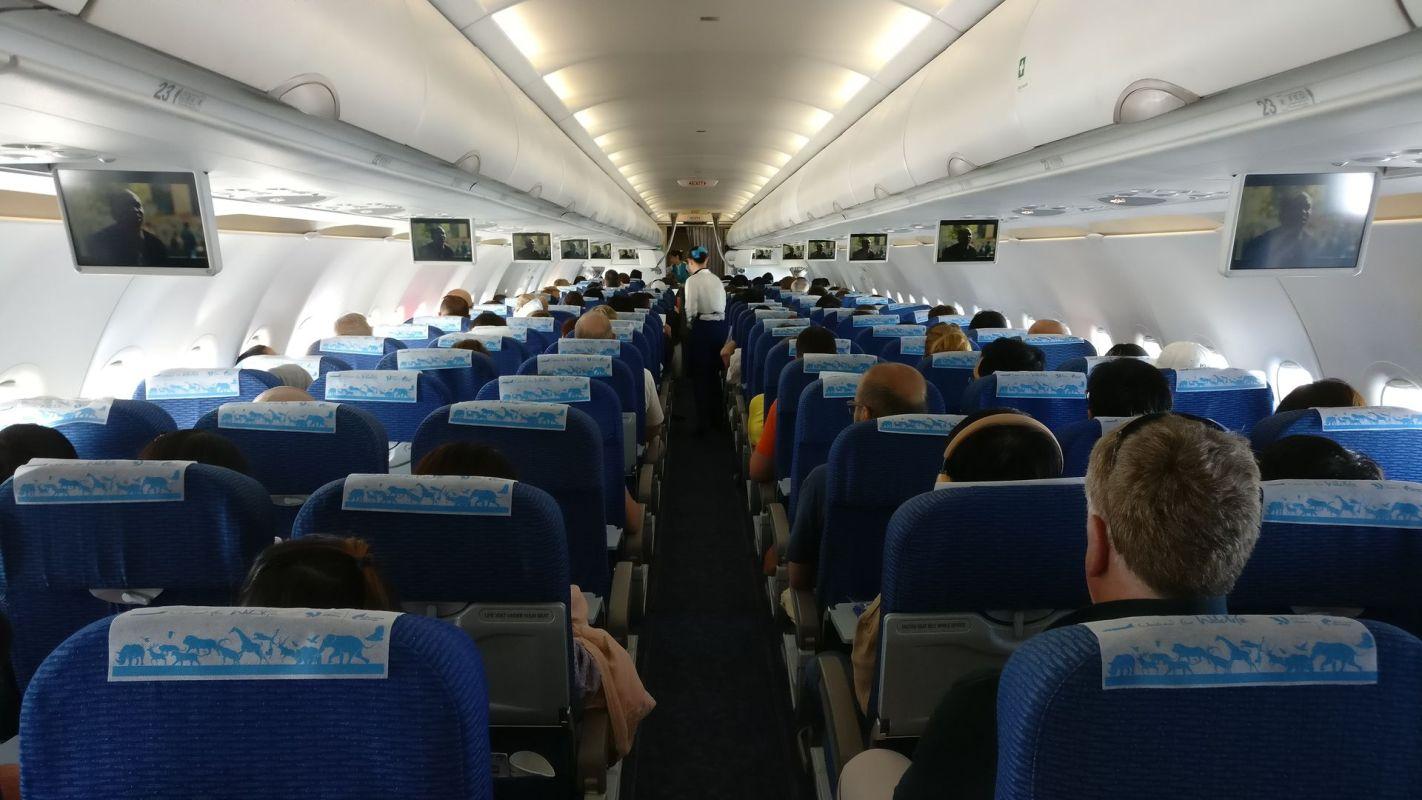 Bangkok Airways Economy Class Cabin