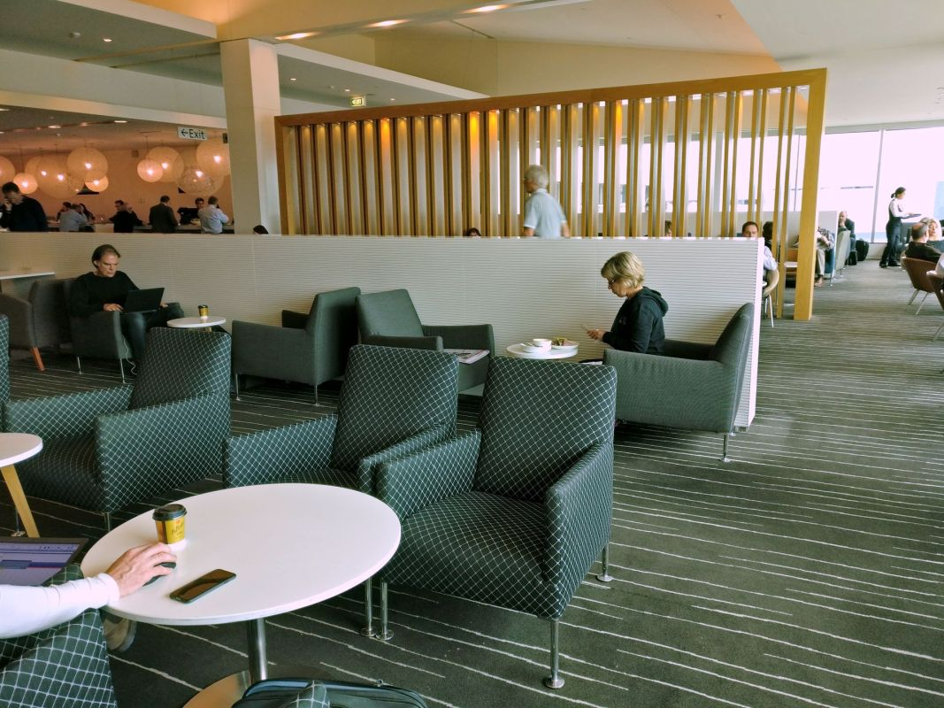 Qantas Business Lounge Melbourne