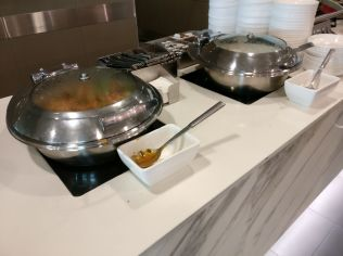 Qantas Business Lounge Melbourne Buffet