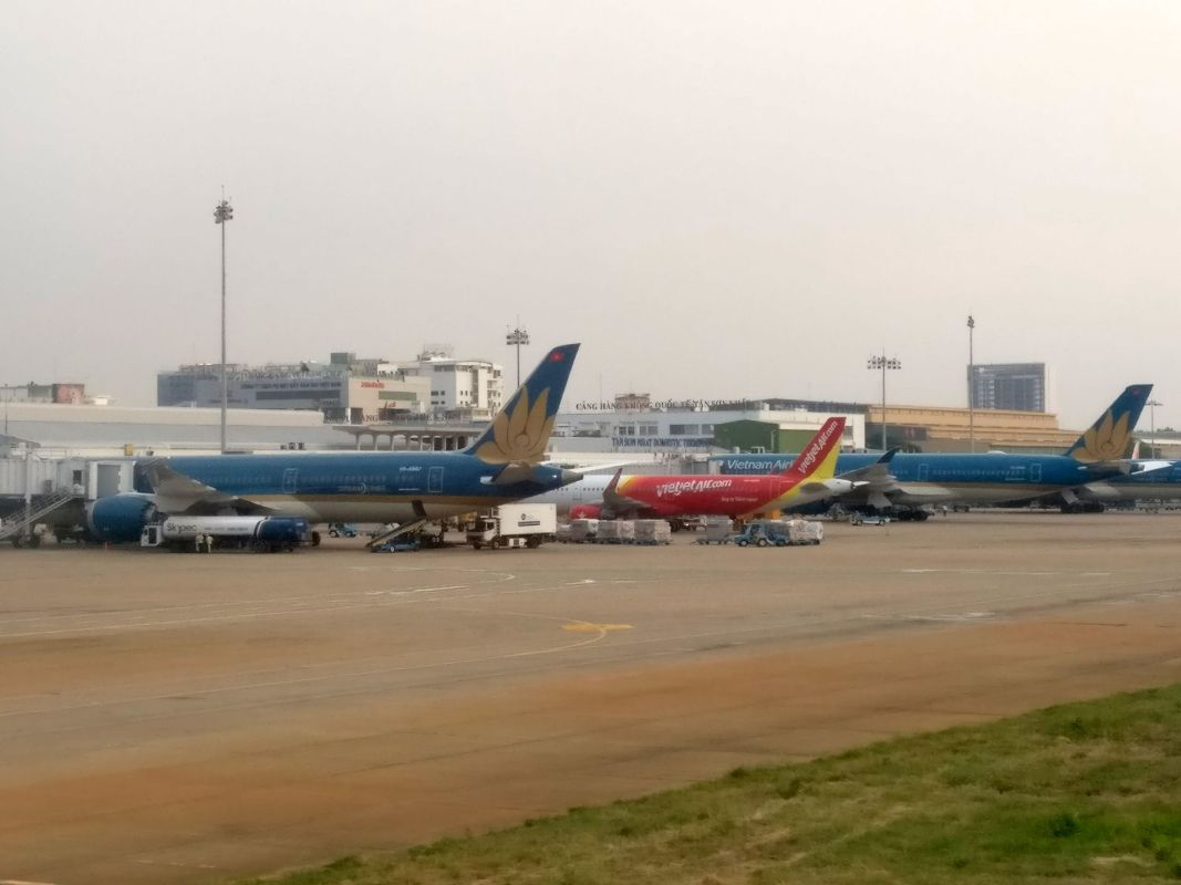Saigon Airport Jets