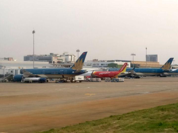 Saigon Airport Jets