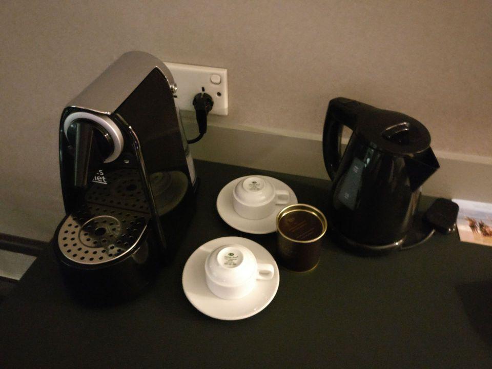 Sofitel Saigon Plaza Superior Club Room Coffee Machine