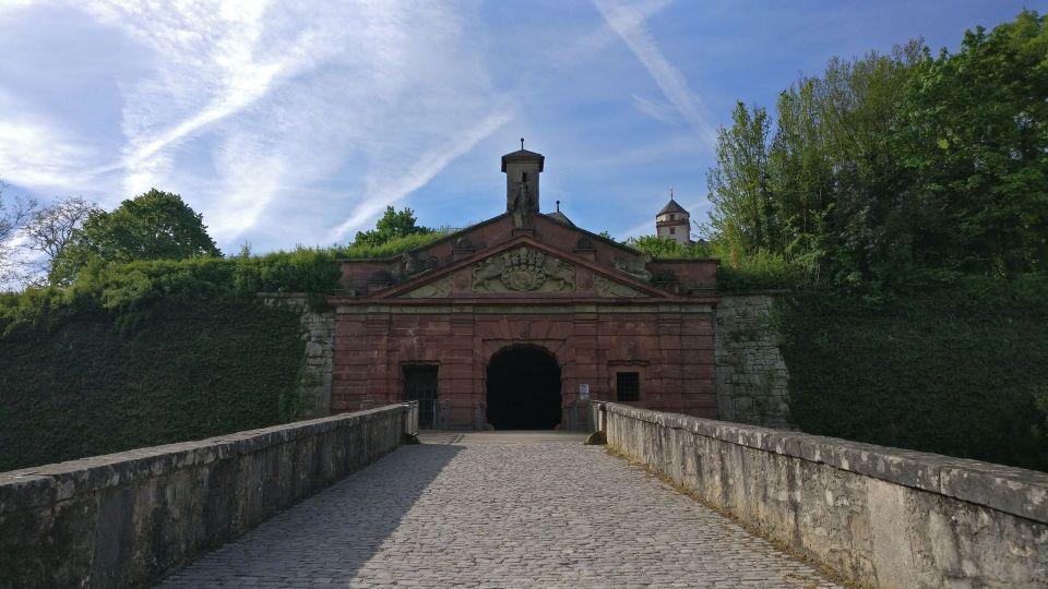 Würzburg Festung Marienburg Garten