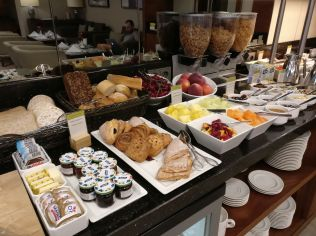 DoubleTree Warsaw Convention Centre Lounge Breakfast