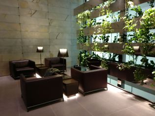 First Class Lounge Doha Seating