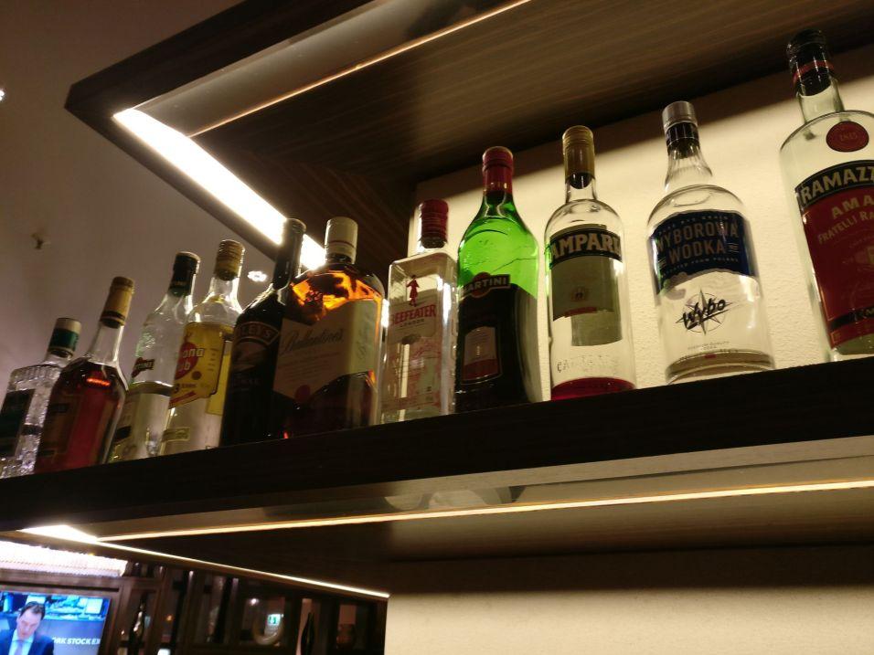 Hilton Berlin Executive Lounge Evening Spread