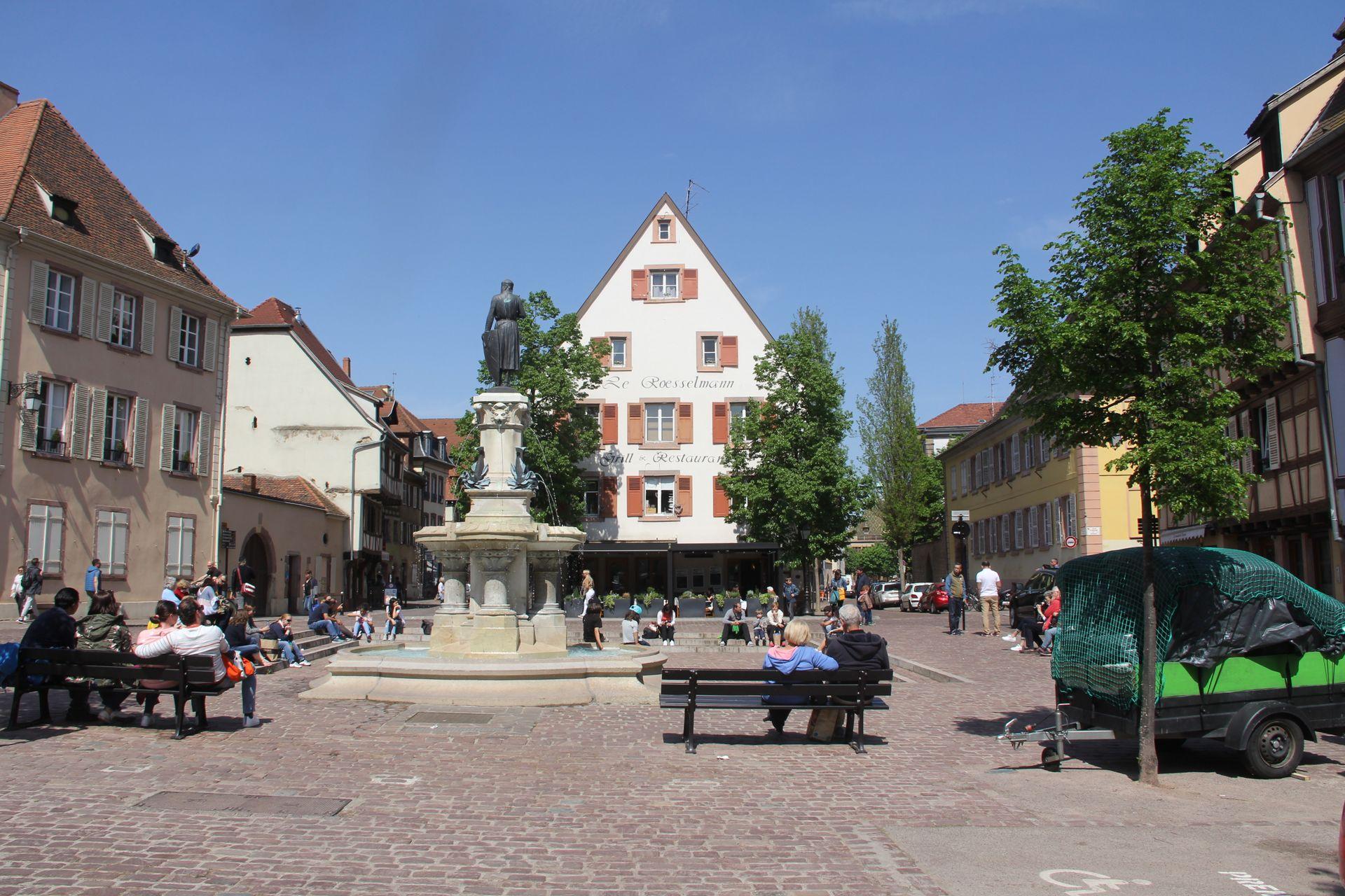 Roesselmann Fountain Colmar